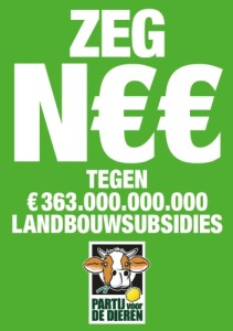Against agricultural subsidies