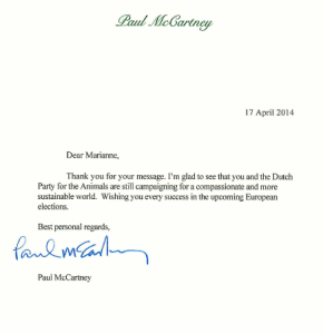 Paul McCartney 17 april