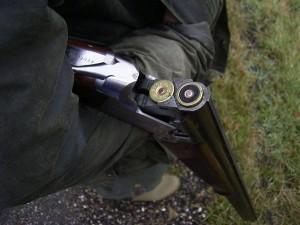 Geweer met kogels