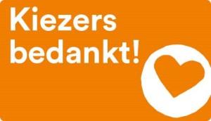 Button Kiezers bedankt!